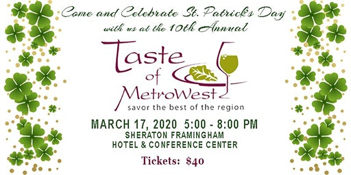 10th Annual Taste of MetroWest