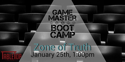 Game Master Bootcamp: Zone of Truth