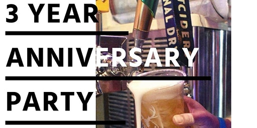 3-Year Anniversary Party with Music from Broken Arrow