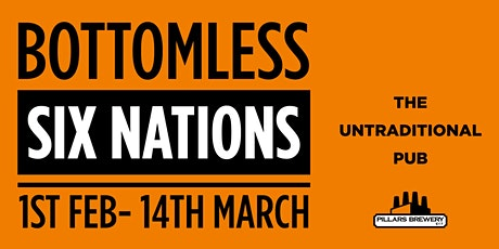 SIX NATIONS : ENGLAND VS IRELAND  - Bottomless KO: 1500 tickets