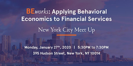 BEworks: Applying Behavioral Economics to Financial Services tickets