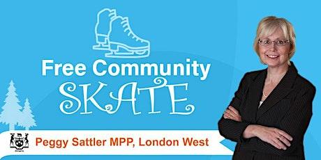 Free Community Skate tickets