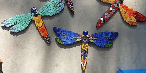 Mosaic Dragonfly Workshop