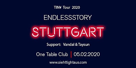 TIN¥ TOUR 2020: Stuttgart Tickets