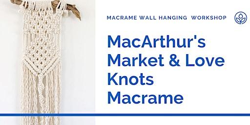 MacArthur's Macrame Wall Hanging Workshop