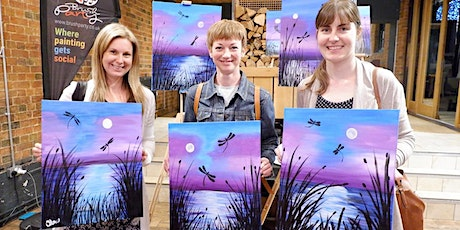 Dance of the Dragonflies Brush Party - Hurst tickets