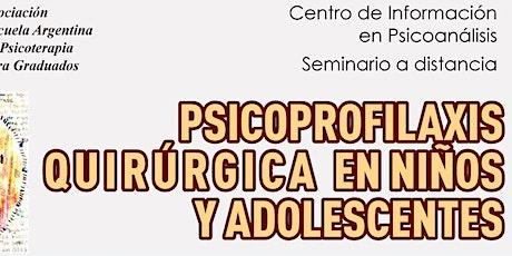 Psicoprofilaxis quirúrgica en niños y adolescentes entradas