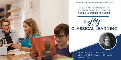 A Conversation with Susan Wise Bauer: The Joy of Classical Learning