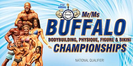 2020 Mr/Ms Buffalo Bodybuilding Championships - Prejudging 10AM tickets