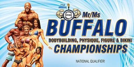 2020 Mr/Ms Buffalo Bodybuilding Championships - Night Show 6PM tickets