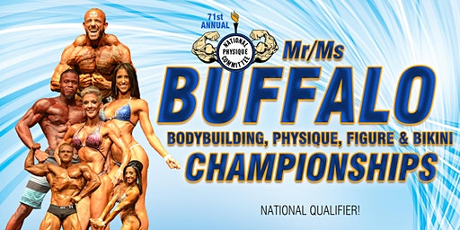 2020 Mr/Ms Buffalo Bodybuilding Championships - Night Show 6PM
