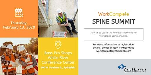 2020 CoxHealth WorkComplete Spine Summit