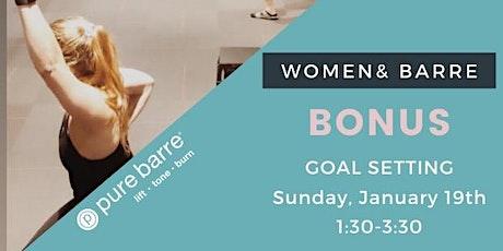 Women& Barre tickets