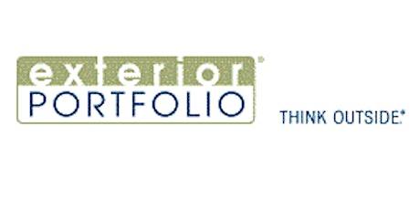 Exterior Portfolio Product and Sales Training tickets