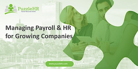 Managing Payroll & HR For Growing Companies tickets