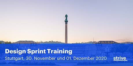 Strive Design Sprint Training Stuttgart (2 Tage, Deutsch) Tickets