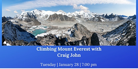 Climbing Mount Everest with Craig John tickets