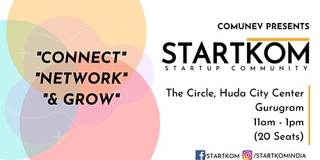 Startkom Gurugram -  Startup Networking tickets