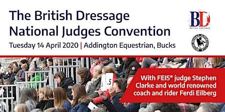 Judges Convention 2020 tickets