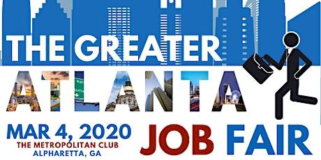 Great Atlanta Job Fair tickets