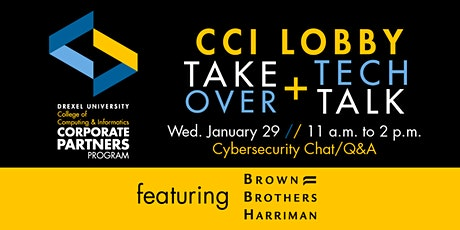 Lobby Takeover & Cybersecurity Chat with Brown Brothers Harriman tickets