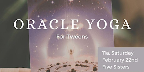 Oracle Yoga For Tweens tickets