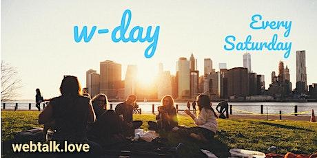 Webtalk Invite Day - Rio de Janeiro - Brazil - Weekly billets