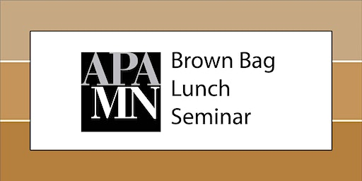 APA MN Brown Bag Lunch Seminar: Assistance Programs from DEED