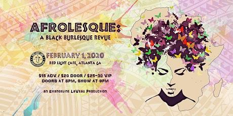 Afrolesque: A Black Burlesque Revue tickets