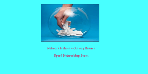 Network Ireland - Galway Branch Speed Networking