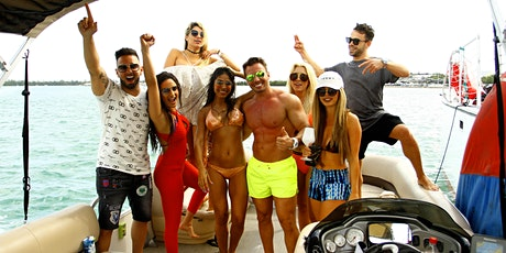 SPRING BREAK BOAT PARTY VIP PACKAGE - 3HR ALL INCLUSIVE  tickets