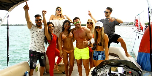 SPRING BREAK BOAT PARTY VIP PACKAGE - 3HR ALL INCLUSIVE