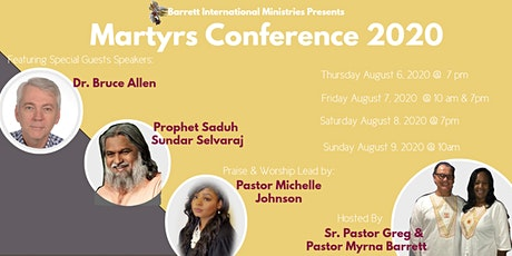 Martyrs Conference 2020 tickets