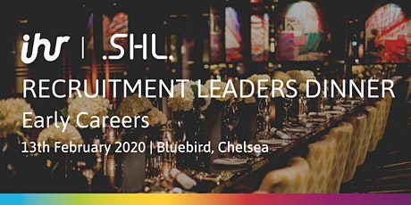 Recruitment Leaders Dinner: Early Careers tickets