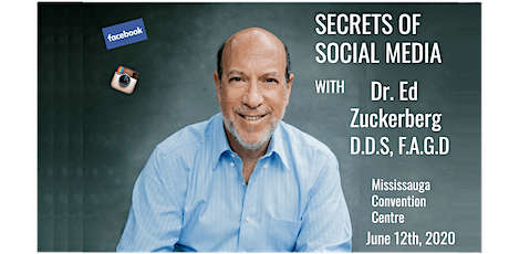Secrets of Social Media with Dr. Ed Zuckerberg tickets