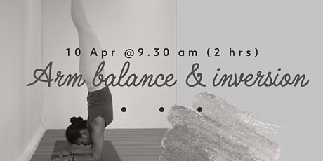 Arm Balance & Inversion Yoga workshop tickets