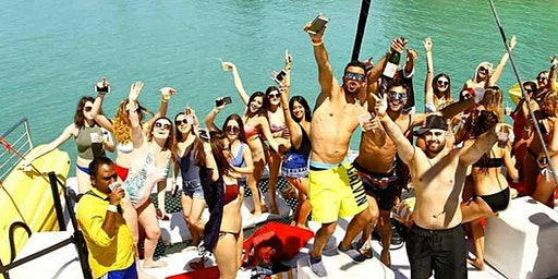 SPRING BREAK - All Inclusive VIP Party Boat Miami