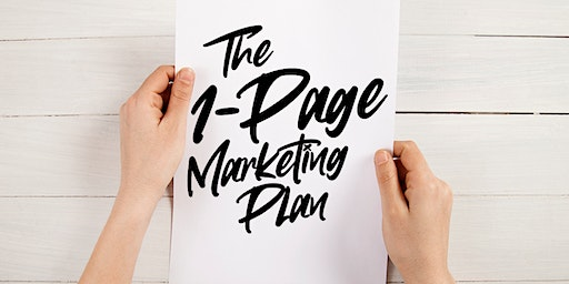 """The """"1-Page Marketing Plan"""" Lunch & Learn"""