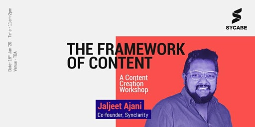 The Framework of Content - A Content Creation Workshop