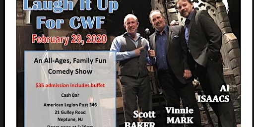 Laugh it up For the Child Welfare Foundation (CWF)Presented by S.A.L  NJ