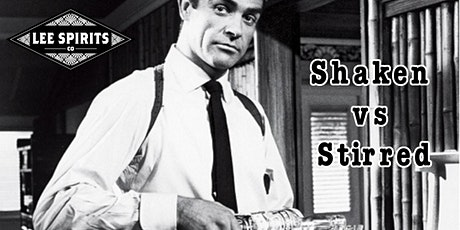 "A Lee Spirits Cocktail Class: ""Shaken vs Stirred"" tickets"