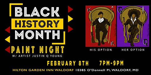 Black History Month Paint Night-WALDORF