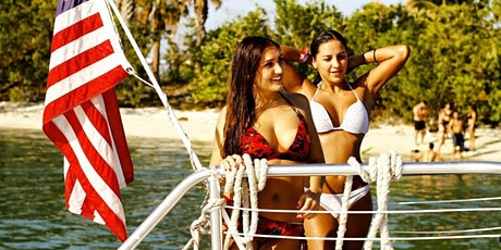 SPRING BREAK - VIP TOP SHELF DRINKS PARTY BOAT MIAMI!  tickets