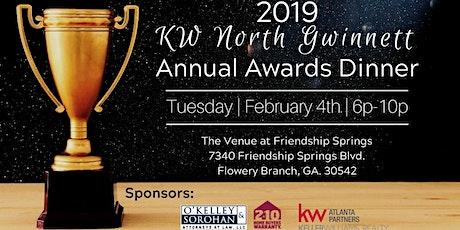 2019 Annual Awards Dinner tickets