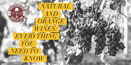 Natural and Orange Wines: Everything you need to know tickets