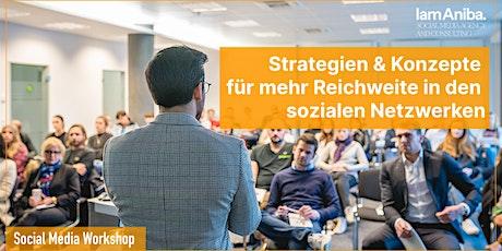 Social Media: Strategien & Konzepte für mehr Reichweite & Umsatz tickets