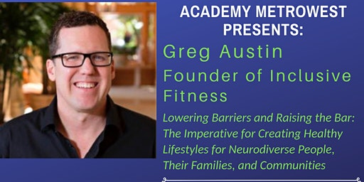 Parent Workshop:Healthy Lifestyles for Neurodiverse People & Their Families