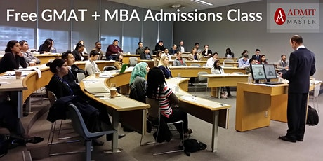 Free GMAT Refresher + MBA Admissions Workshop (Midtown Toronto) tickets