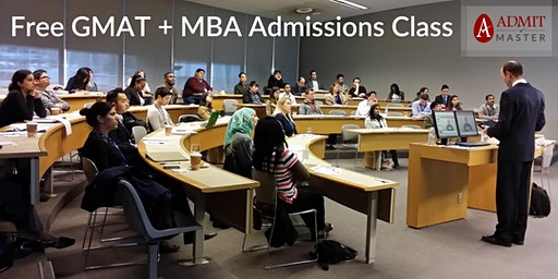Free GMAT Refresher + MBA Admissions Workshop (Midtown Toronto)