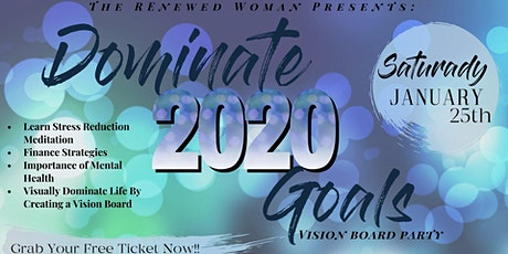 Dominate 2020 Goals Party tickets